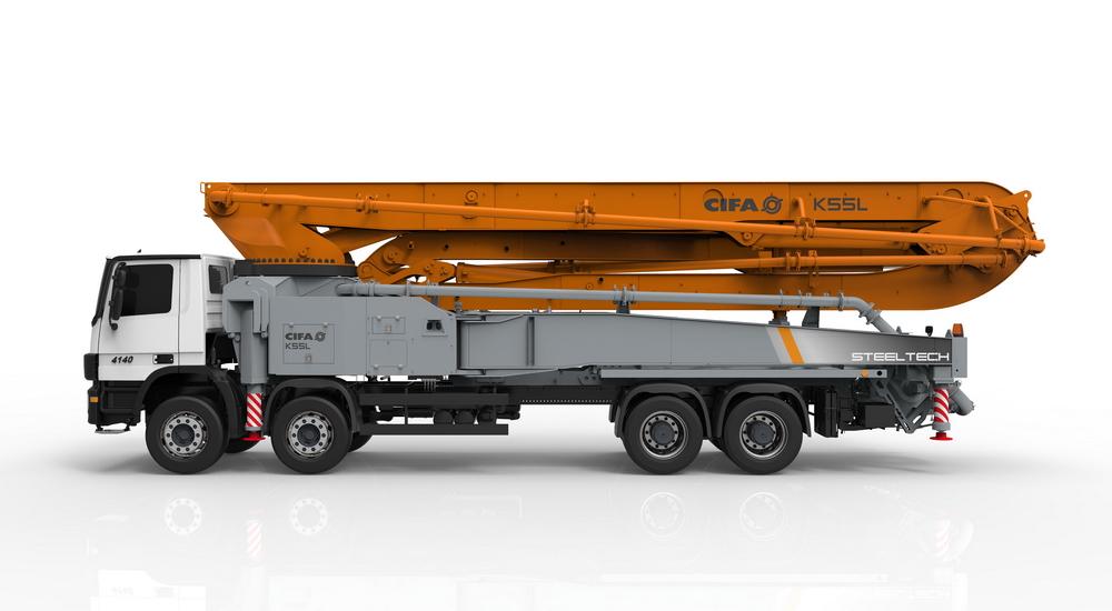 Cifa K55L betona sūknis